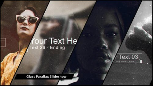 Glass Parallax Slideshow 21195834 - Project for After Effects (Videohive)