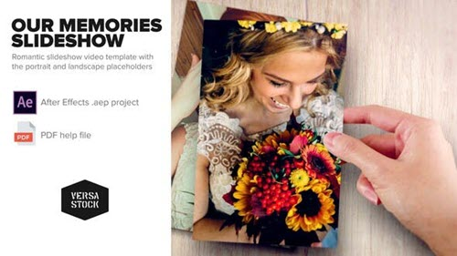 Our Memories Slideshow 23770407 - Project for After Effects (Videohive)