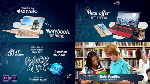 Back2School Pack 2018 - Project for After Effects (Videohive)