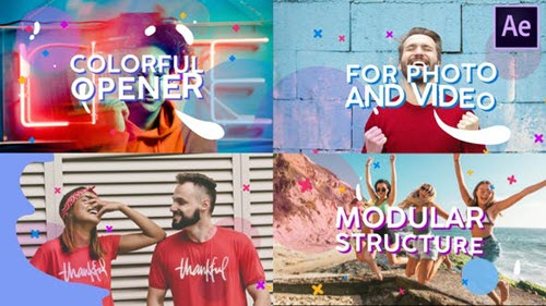 Colorful Opener | After Effects - 28344895 - Project for After Effects (Videohive)