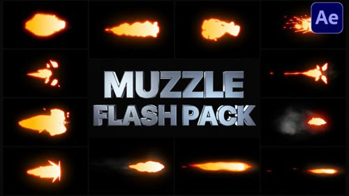 Muzzle Flash Pack | After Effects - 29238108 - Project for After Effects (Videohive)