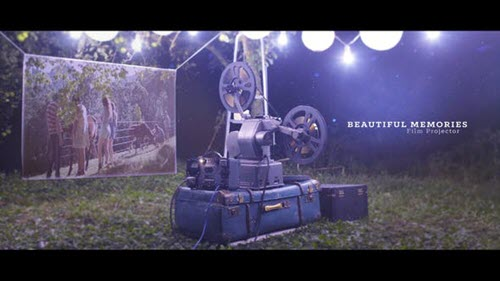 Beautiful Memories - Film Projector - 22717188 - Project for After Effects