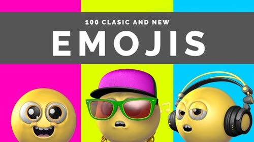 100 Classic And New Emojis - 29840105 - Motion Graphics