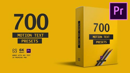 Text Presets - Premiere Studio Plugin 23658204