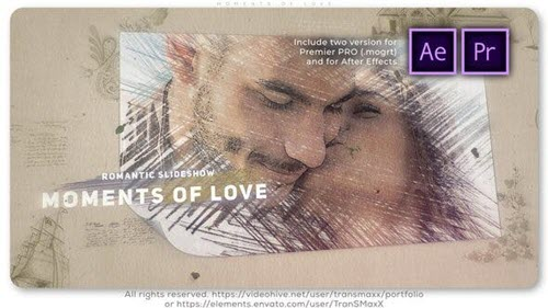 Moments of Love - 26363511 - Premiere PRO and After Effects