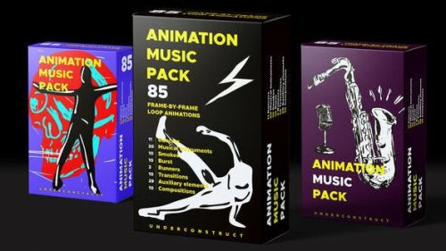 Animation music pack - 30486180 - Project for After Effects