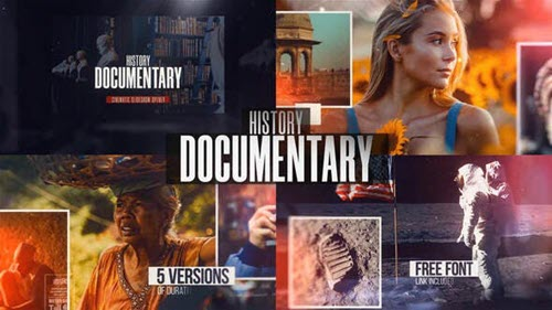 History Documentary Slideshow - 32333859 - Project for After Effects