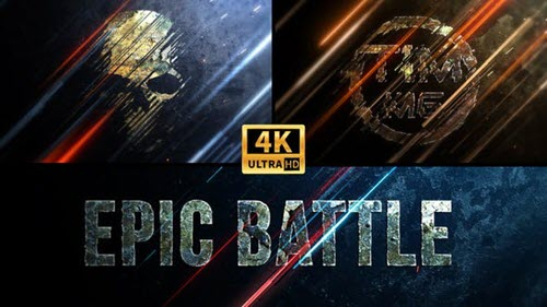 Epic Battle Logo 4K - 33867321 - Project for After Effects