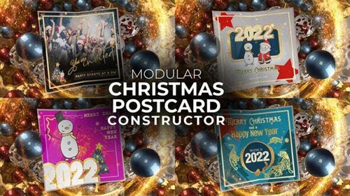 Christmas Postcard - 34133556 - Project for After Effects